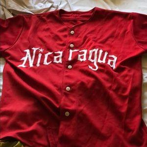 Nicaraguan Pro Baseball team Jersey